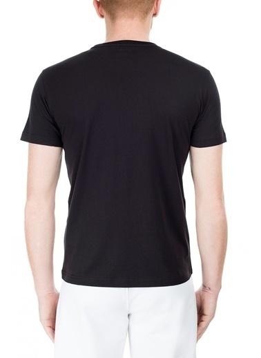 EA7 Emporio Armani  Regular Fit T Shirt Erkek T Shırt S 6Gpt81 Pjm9Z 1200 Siyah